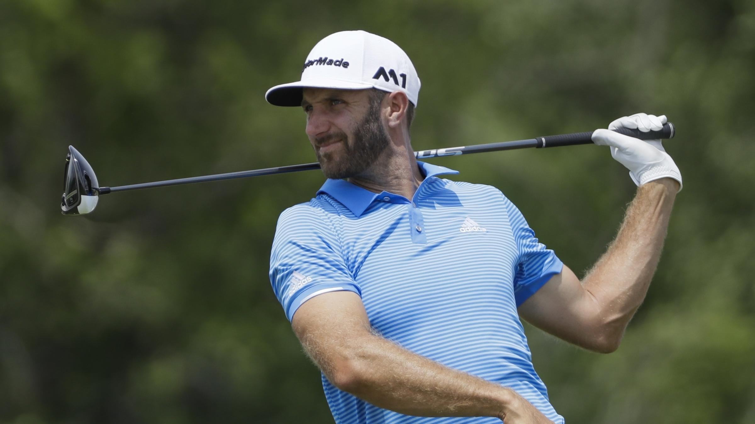 Dustin Johnson remains relaxed despite disruption ahead of US Open title defence