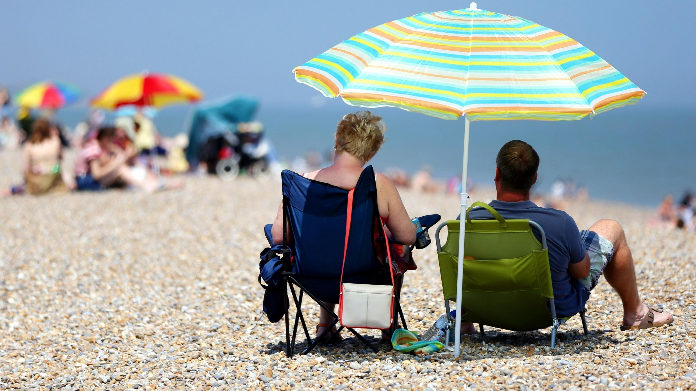 Britain basks in record-breaking June temperatures - and it's getting hotter