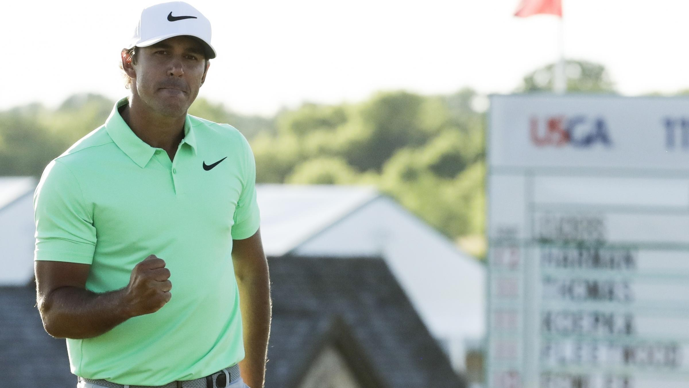 Brooks Koepka caps record week with US Open title