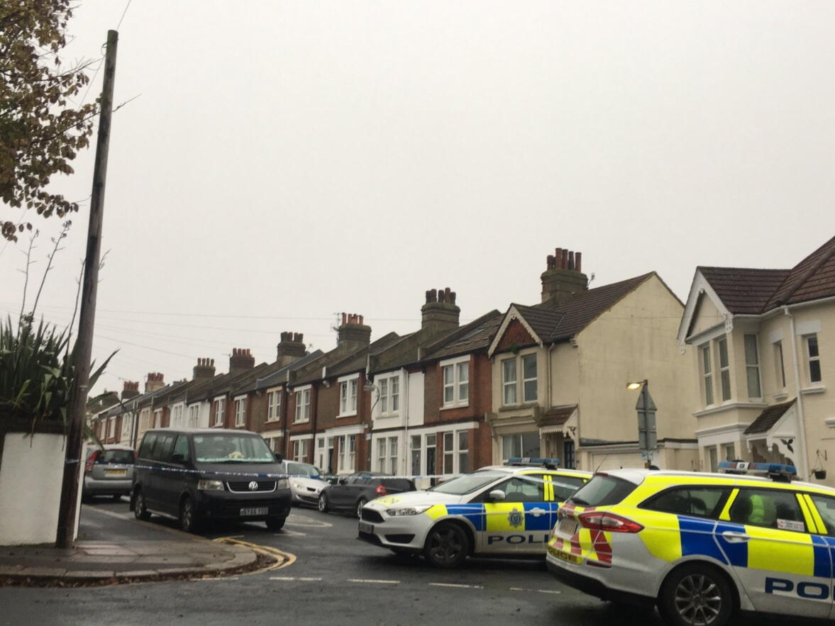 Woman stabbed to death in Sussex town
