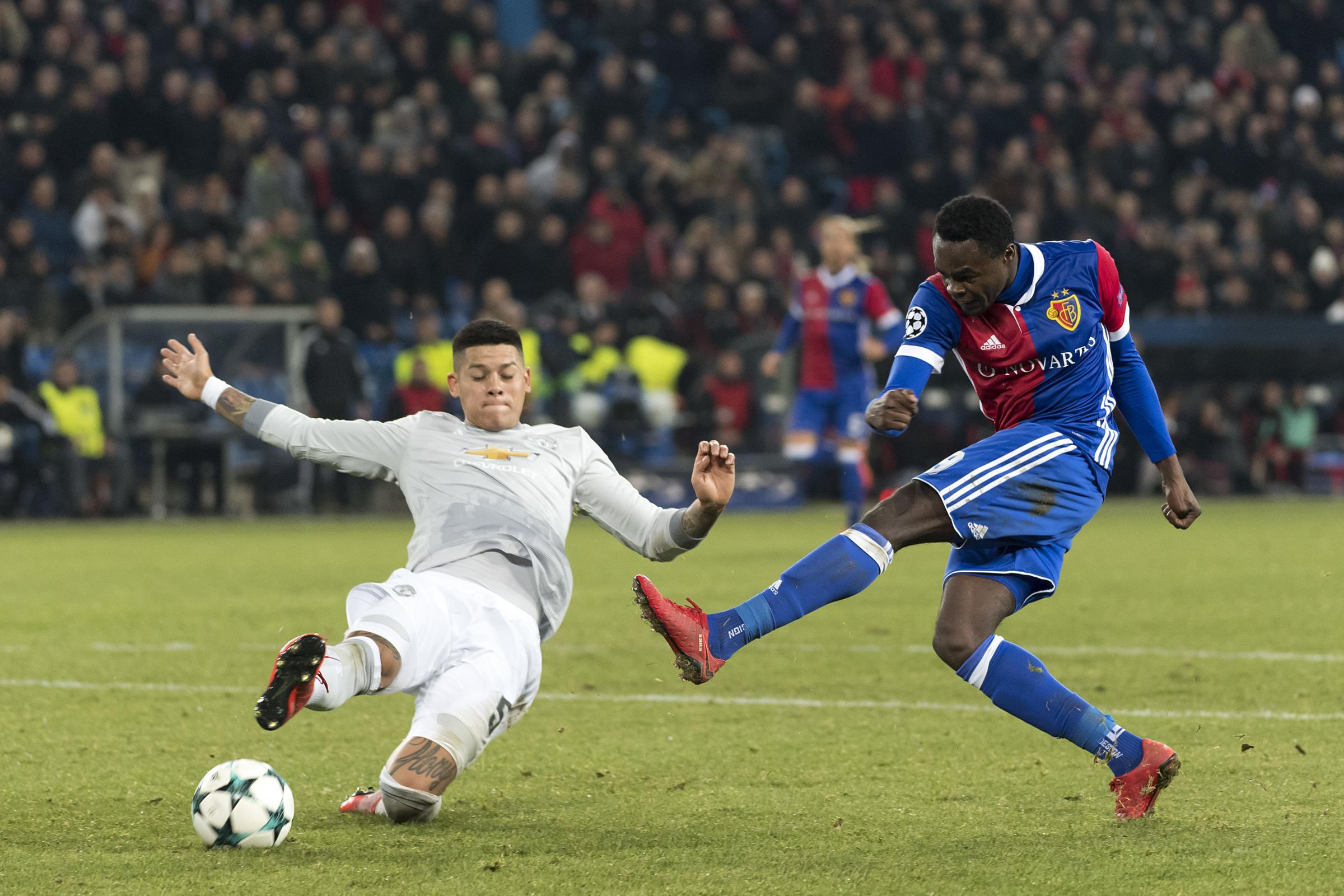 Ibrahimovic makes Champions League history in Man Utd's Basel loss