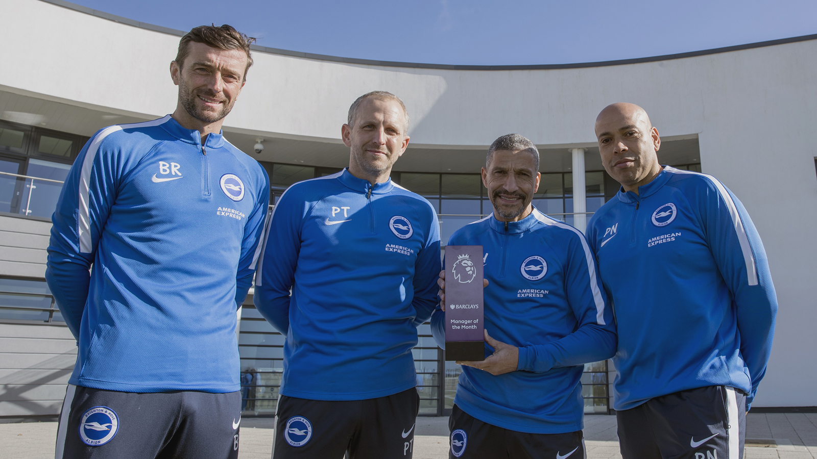 Mohamed Salah, Chris Hughton win February Premier League awards