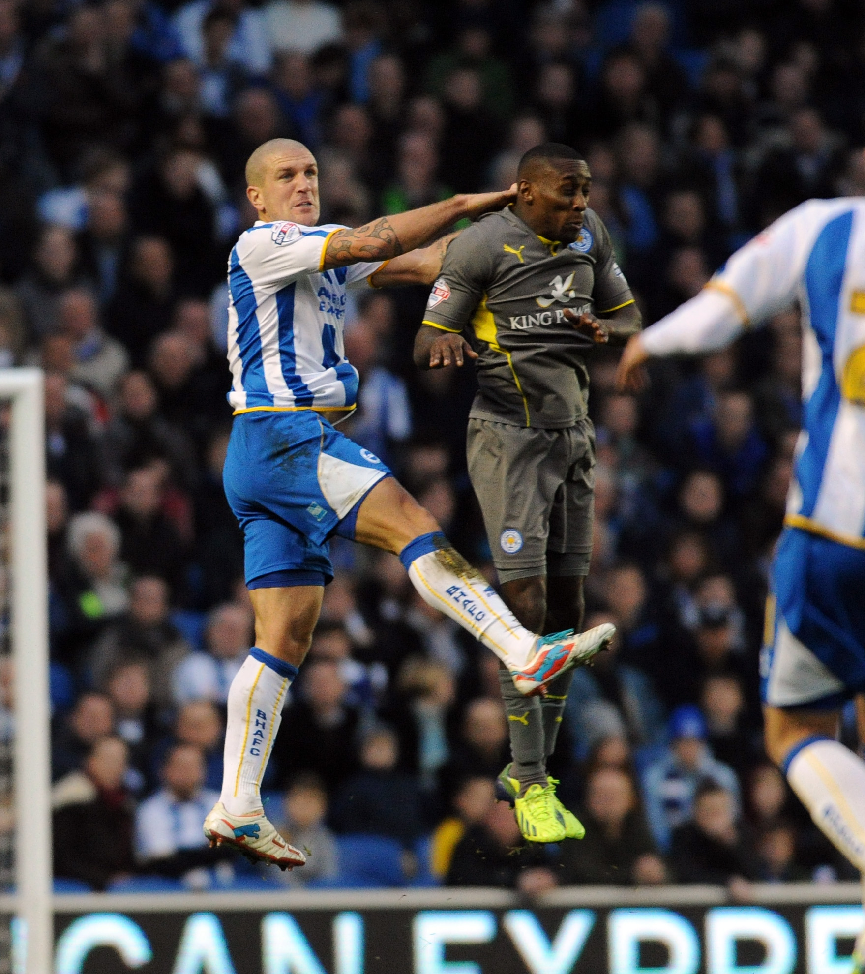 Stalemate leaves Brighton and Burnley looking over their shoulders
