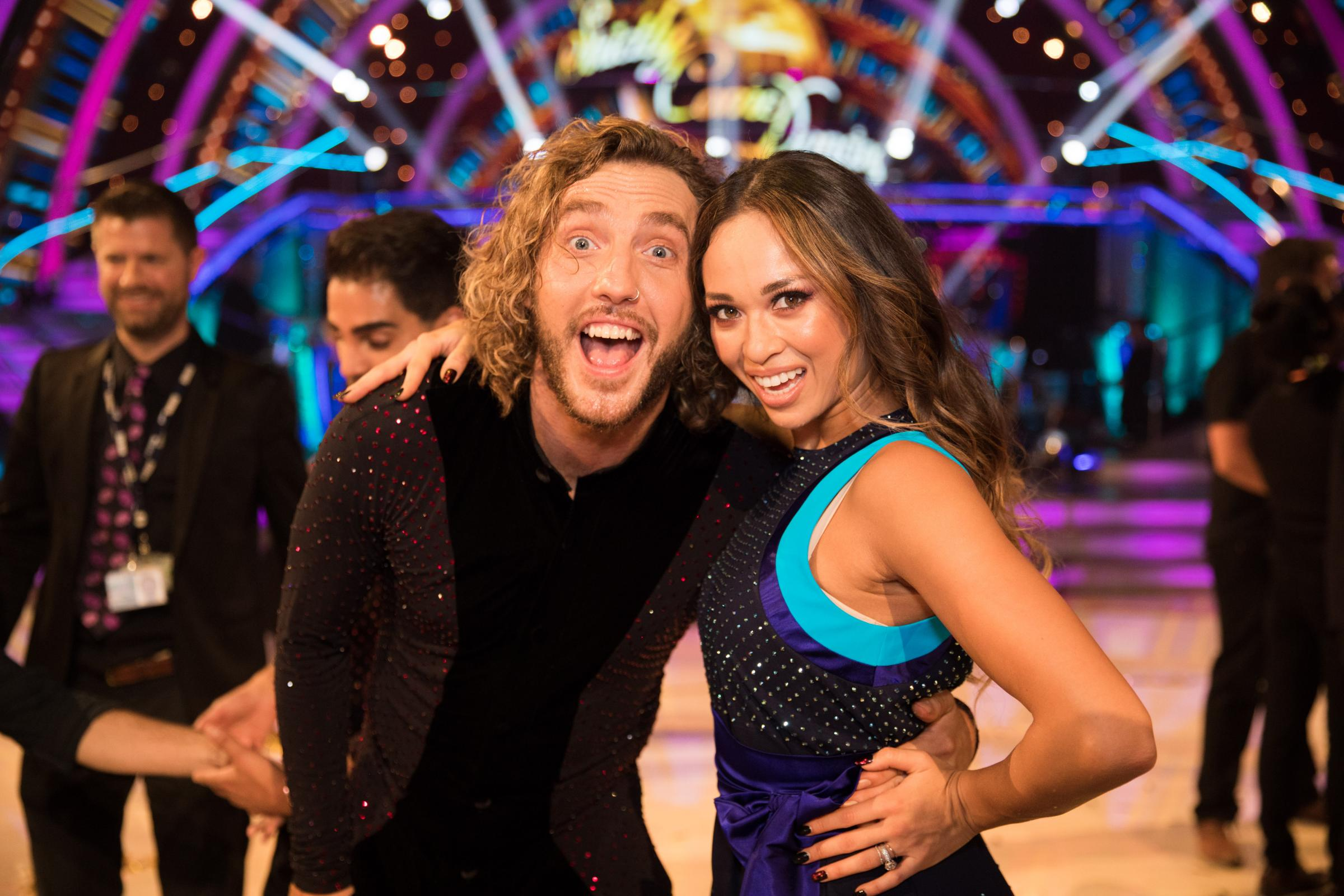 Seann and Katya face the music and dance on Strictly